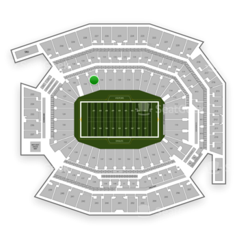 Philadelphia Eagles at Lincoln Financial Field Section 123 View