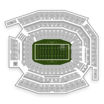 Philadelphia Eagles at Lincoln Financial Field 127 U View