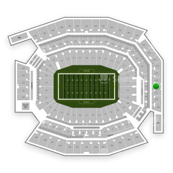 Philadelphia Eagles at Lincoln Financial Field Section 212 View