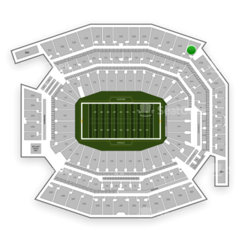 Philadelphia Eagles at Lincoln Financial Field Section 219 View