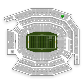 Philadelphia Eagles at Lincoln Financial Field Section 220 View