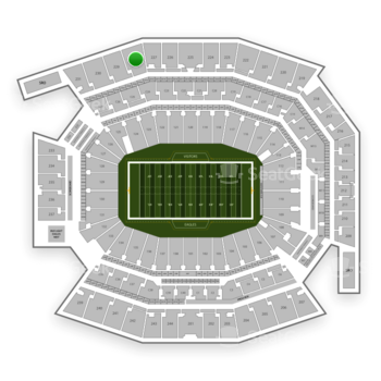 Philadelphia Eagles at Lincoln Financial Field Section 228 View