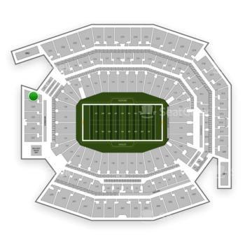 Philadelphia Eagles at Lincoln Financial Field Section 233 View