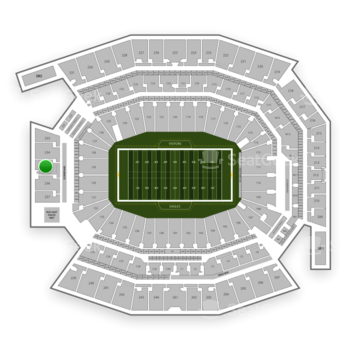 Philadelphia Eagles at Lincoln Financial Field Section 235 View