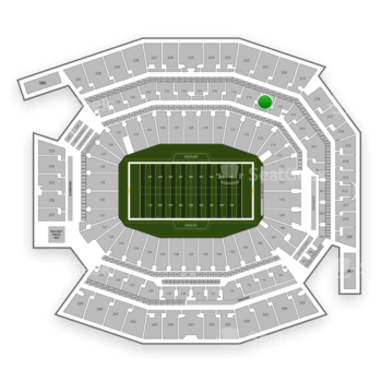 Philadelphia Eagles at Lincoln Financial Field C 17 View