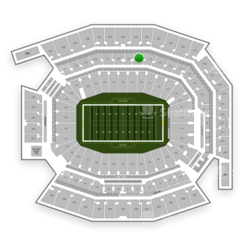 Philadelphia Eagles at Lincoln Financial Field C 20 View