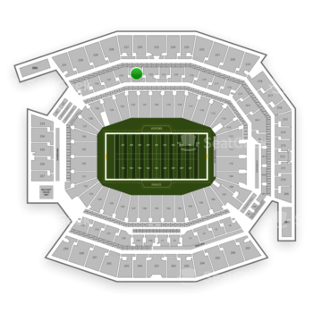 Philadelphia Eagles at Lincoln Financial Field C 23 View