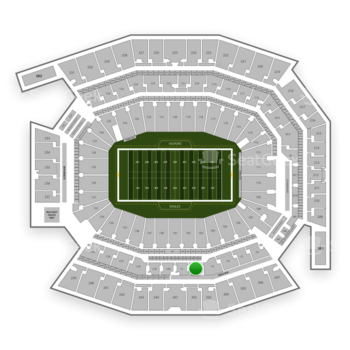 Philadelphia Eagles at Lincoln Financial Field Section C 2 View