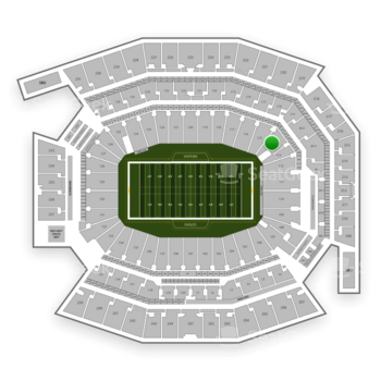 Philadelphia Eagles at Lincoln Financial Field Section 114 View