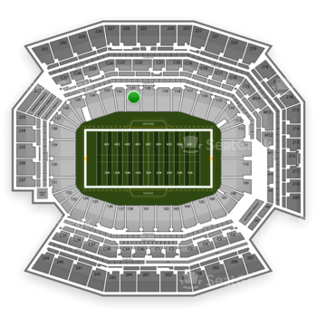 Philadelphia Eagles at Lincoln Financial Field Section 121 View