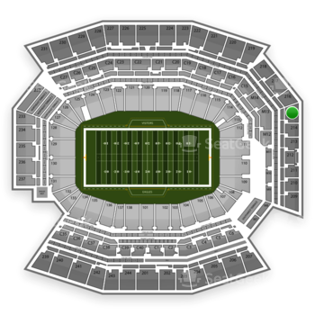 Philadelphia Eagles at Lincoln Financial Field Section 215 View