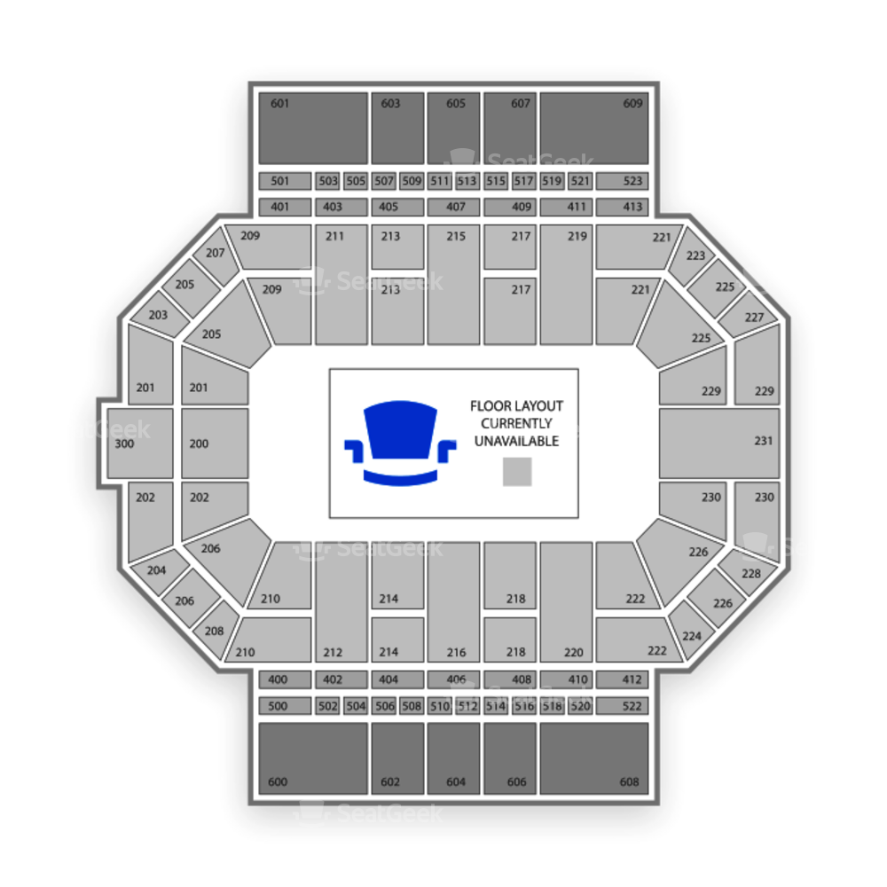 Los Angeles D-Fenders Seating Chart