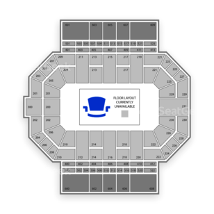 Allen County War Memorial Coliseum Seating Chart Concert