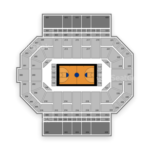 Fort Wayne Mastodons Basketball Seating Chart