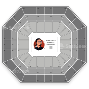 Taco Bell Arena Seating Chart Wwe