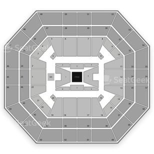 Taco Bell Arena Seating Chart Comedy