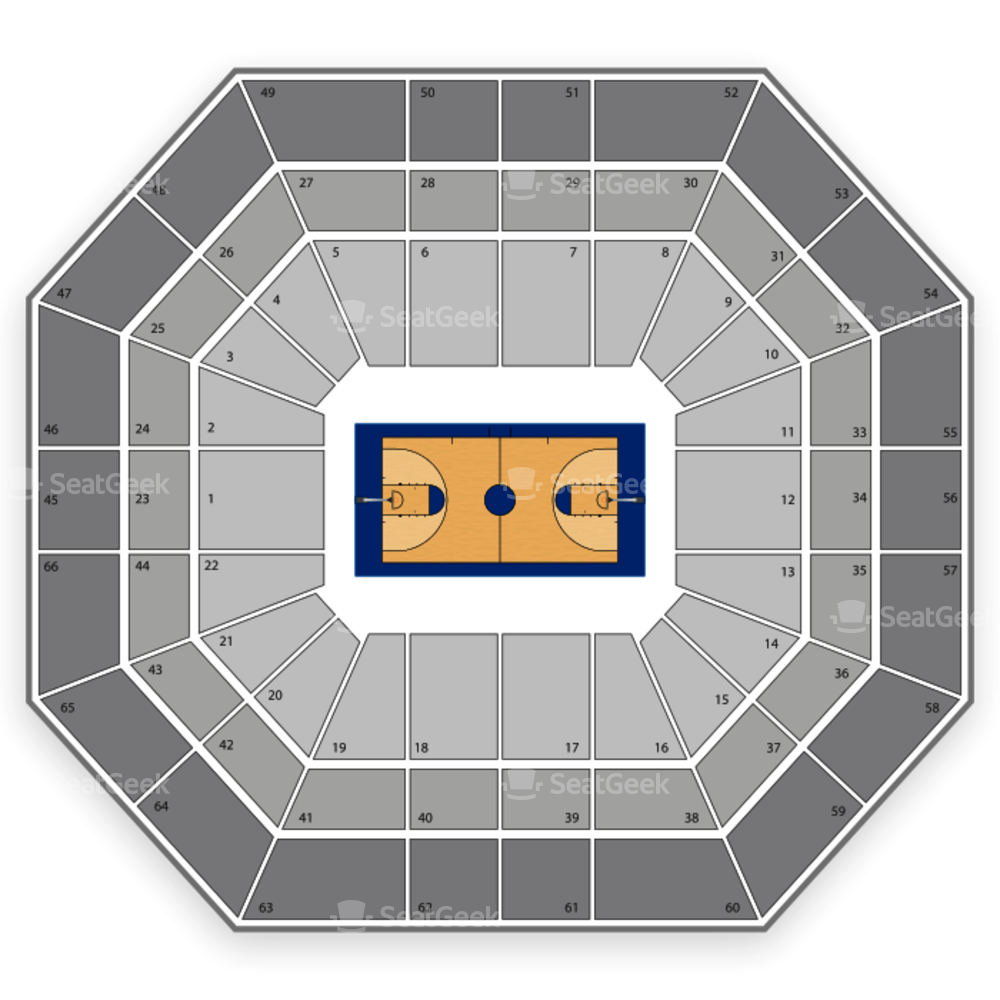 Boise State Broncos Basketball Seating Chart