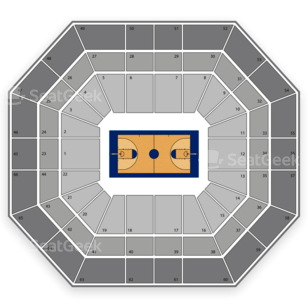 Boise State Broncos Womens Basketball Seating Chart