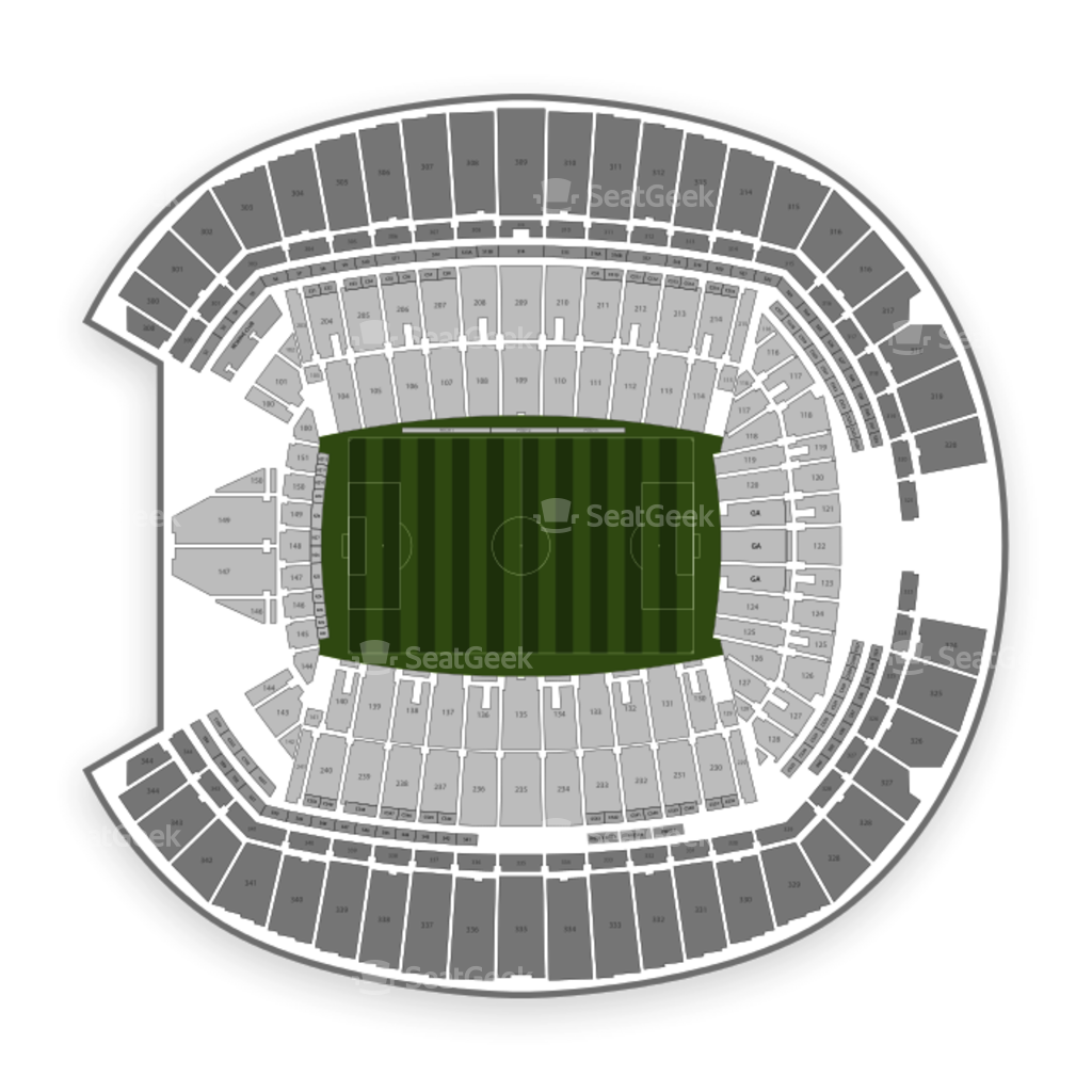 Seattle sounders fc seating chart interactive map seatgeek