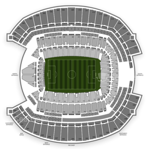 Seattle Sounders FC Seating Chart