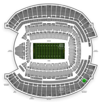 Seattle Seahawks at CenturyLink Field Section 328 View