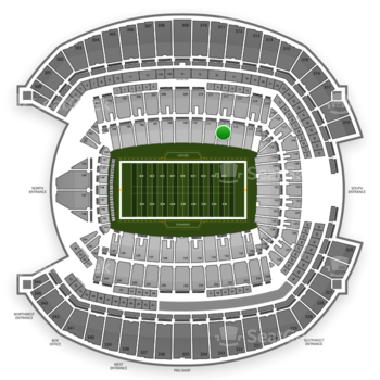 Seattle Seahawks at CenturyLink Field Section 112 View