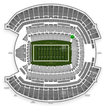 Seattle Seahawks at CenturyLink Field Section 115 View