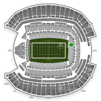 Seattle Seahawks at CenturyLink Field Section 120 View