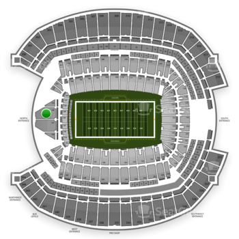 Seattle Seahawks at CenturyLink Field Section 149 View