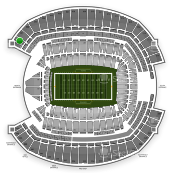 Seattle Seahawks at CenturyLink Field Section 300 View