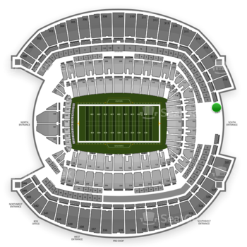 Seattle Seahawks at CenturyLink Field Section 321 View