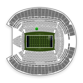 Seattle Seahawks at CenturyLink Field Section 108 View