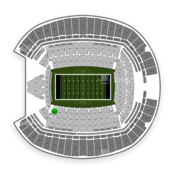 Seattle Seahawks at CenturyLink Field Section 140 View