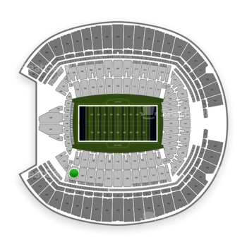 Seattle Seahawks at CenturyLink Field Section 240 View