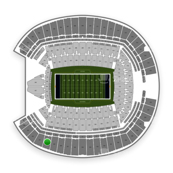 Seattle Seahawks at CenturyLink Field Section 340 View