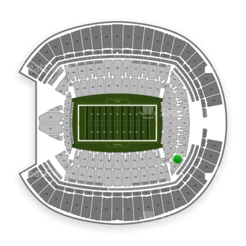 Seattle Seahawks at CenturyLink Field Section 127 View