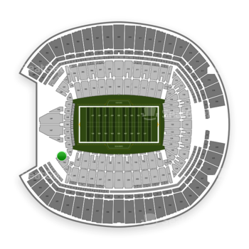 Seattle Seahawks at CenturyLink Field Section 144 View