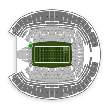 Seattle Seahawks at CenturyLink Field Section 151 View
