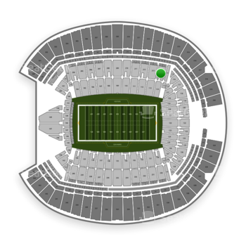 Seattle Seahawks at CenturyLink Field Section 214 View