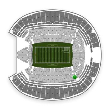 Seattle Seahawks at CenturyLink Field Section 229 View