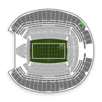 Seattle Seahawks at CenturyLink Field Section 316 View