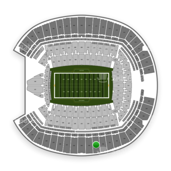 Seattle Seahawks at CenturyLink Field Section 333 View