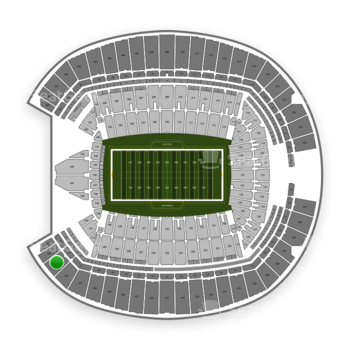 Seattle Seahawks at CenturyLink Field Section 343 View