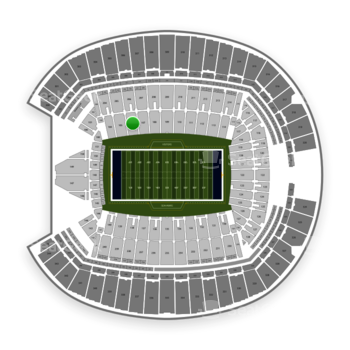 Seattle Seahawks at CenturyLink Field Section 106 View