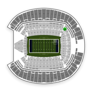 Seattle Seahawks at CenturyLink Field Section 116 View