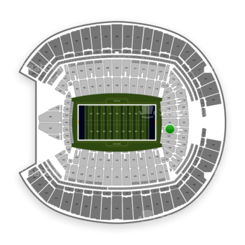 Seattle Seahawks at CenturyLink Field Section 123 View