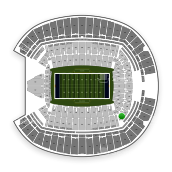 Seattle Seahawks at CenturyLink Field Section 128 View
