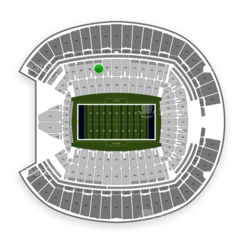 Seattle Seahawks at CenturyLink Field Section 207 View