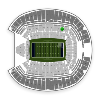 Seattle Seahawks at CenturyLink Field Section 213 View