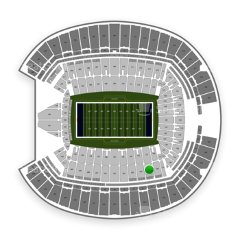 Seattle Seahawks at CenturyLink Field Section 231 View
